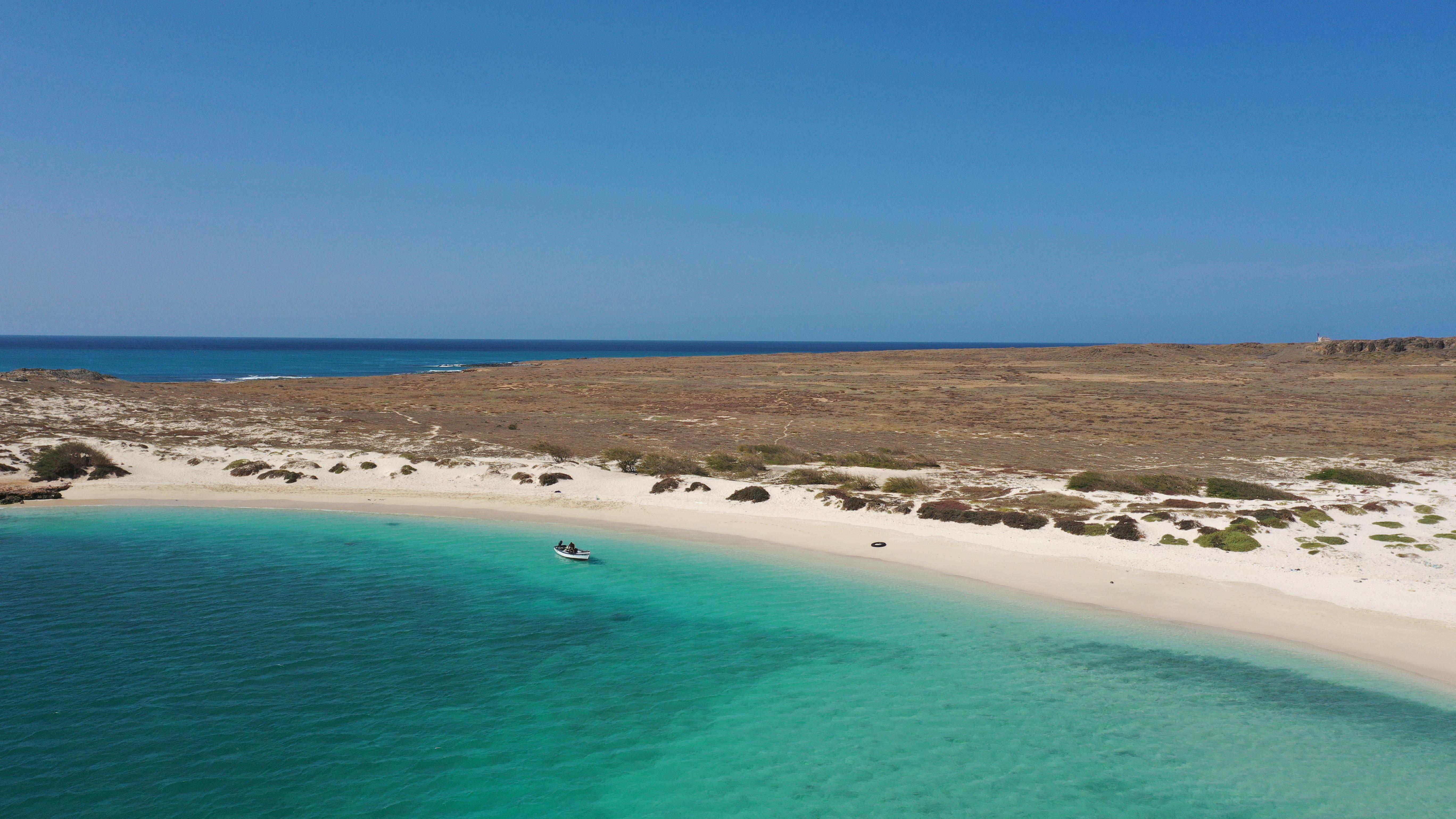 spiaggia isolotto ilheu boavista