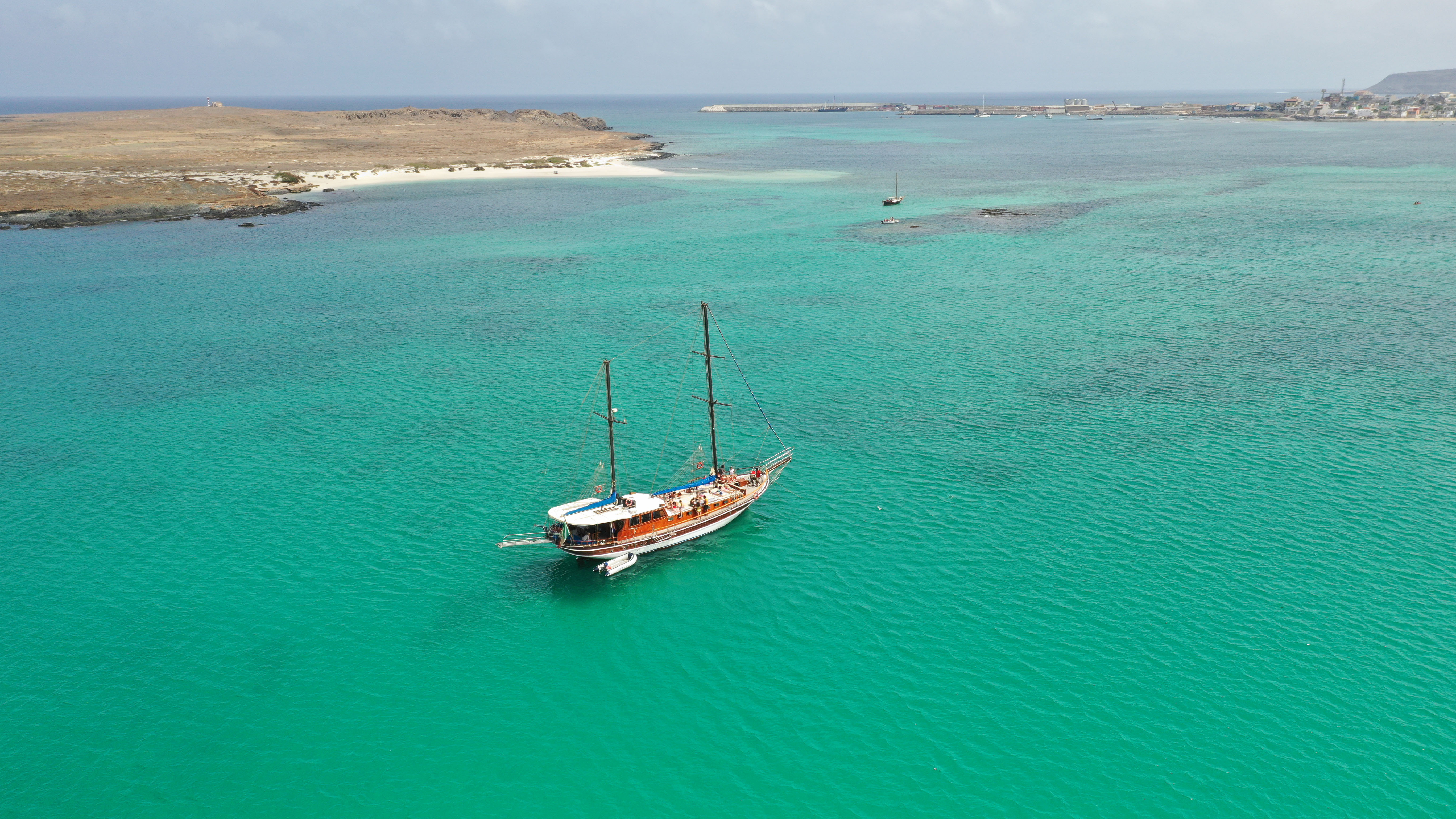 sailing boat boavista