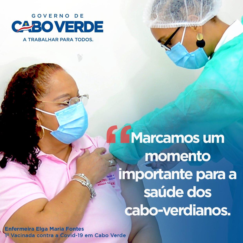 vacinação em Cabo Verde